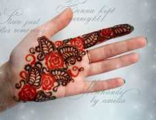 easy mehndi designs for hands 42