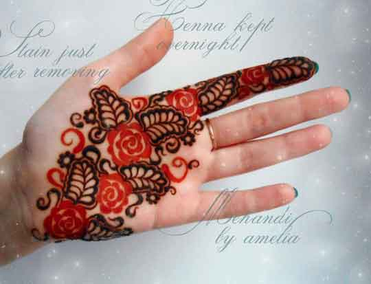 Easy Mehndi Designs For Hands 42 Indian Makeup And Beauty Blog