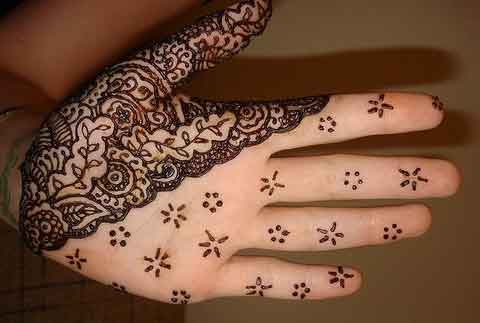 easy mehndi designs for hands 43