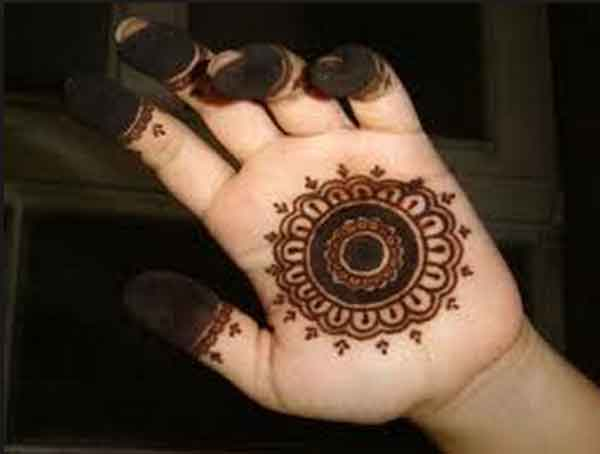Mehndi Makeup Tips In : Easy mehndi designs for hands indian makeup and