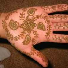 easy mehndi designs for hands 46
