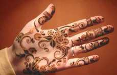 easy mehndi designs for hands 47