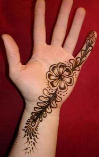 easy mehndi designs for hands 51