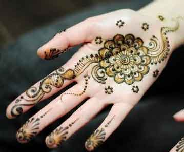 easy mehndi designs for hands 56