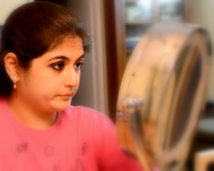 eye makeup with kajal 7