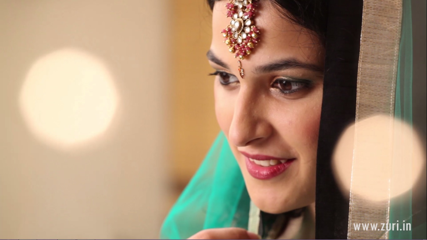 Simple Indian Bridal Makeup For A Cocktail Or Sangeet Ceremony