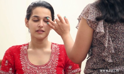 Indian bridal makeup 22