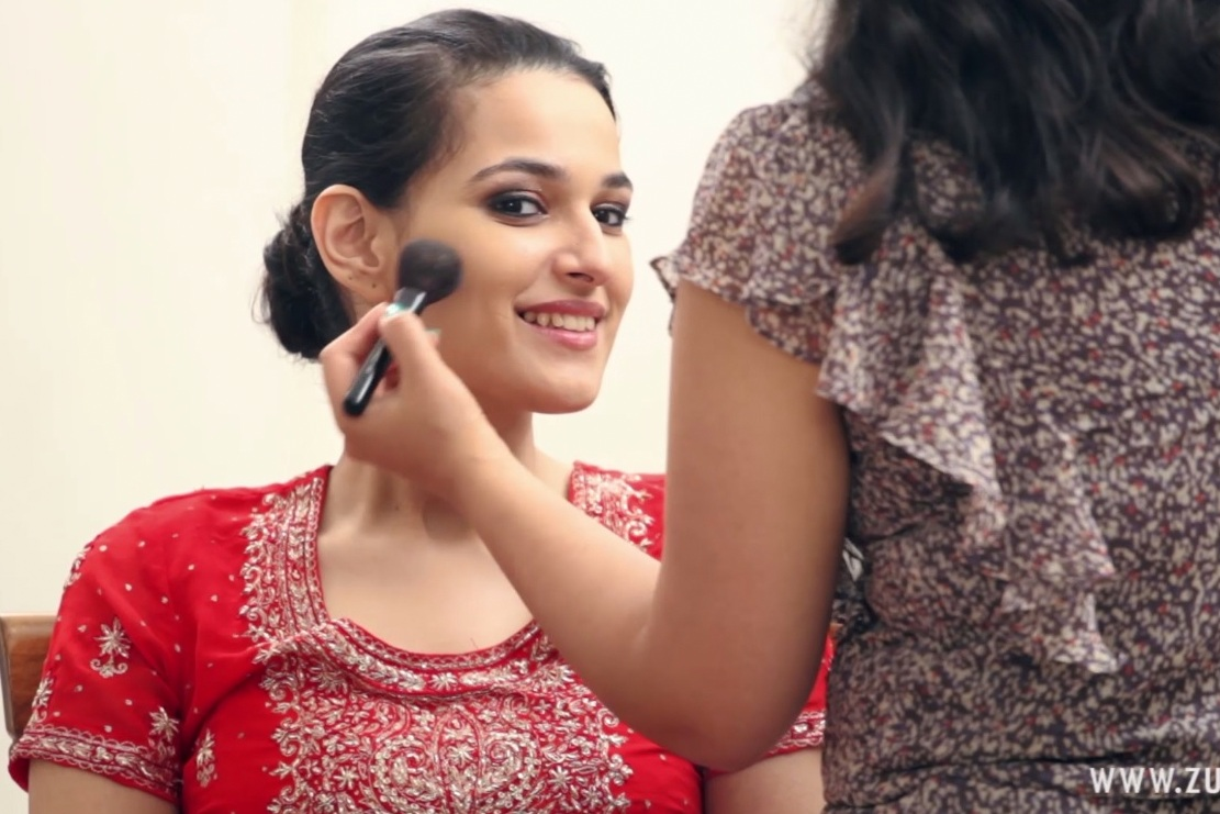 Indian Bridal Makeup For A Reception