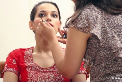 Indian bridal makeup 41