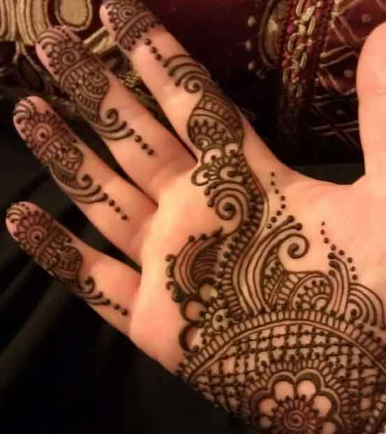 Mehndi Designs Simple Full Hand : Easy mehndi designs awesome
