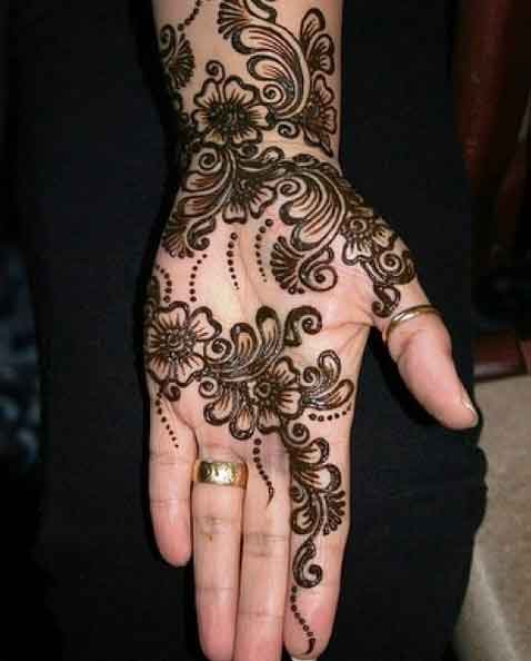 Mehndi Hand With Eye : Simple mehndi designs for hands indian makeup and
