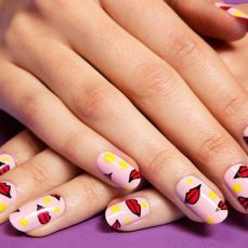Stunning nail art designs 24