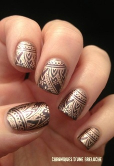 Stunning nail art designs 26