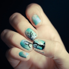 Stunning nail art designs 37