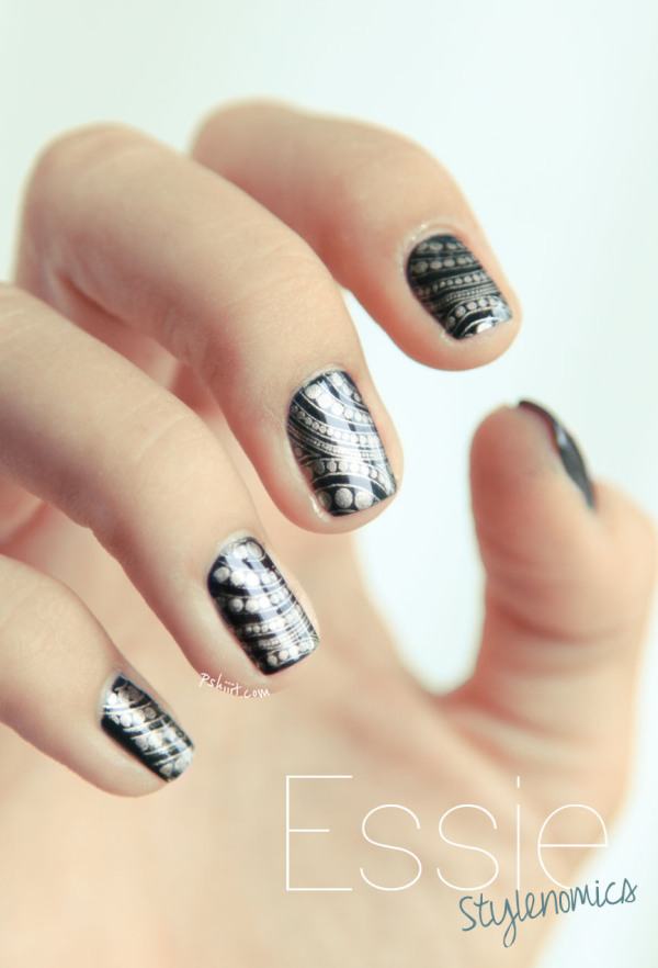 Stunning nail art designs 41