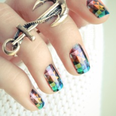 Stunning nail art designs 44