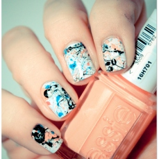 Stunning nail art designs 49