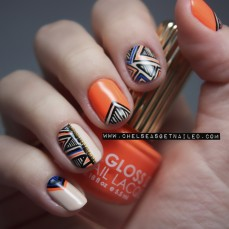 Stunning nail art designs 52