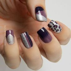Stunning nail art designs 56