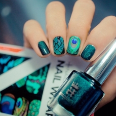 Stunning nail art designs 57