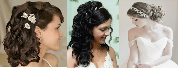 26 Quick Indian wedding/bridal hairstyles for inspiration | Indian Makeup and Beauty Blog ...