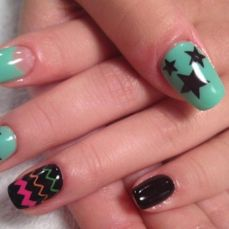 nail art designs for short nails 03
