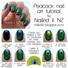 nail art designs for short nails 06