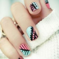nail art designs for short nails 09
