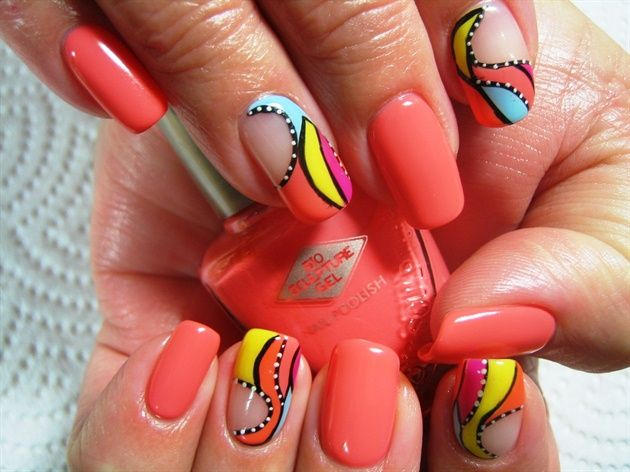 Nail Art Designs For Short Nails 12 Indian Makeup And Beauty Blog