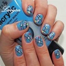 nail art designs for short nails 15
