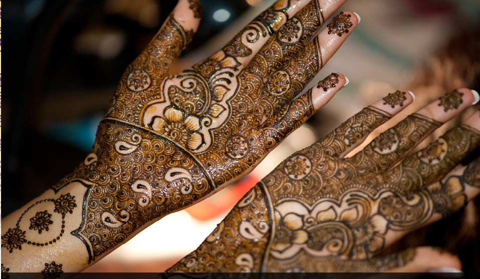 Mehndi For Kids Full Hand : Mehndi designs patterns for kids plates candles outfits