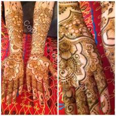 bridal mehndi designs for hands 23