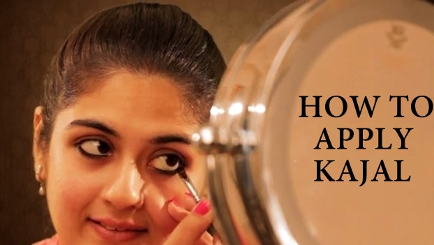 How To Apply Kajal Indian Makeup And Beauty Blog