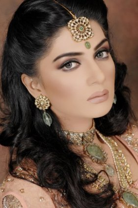 Makeup for Sabyasachi Anarkali