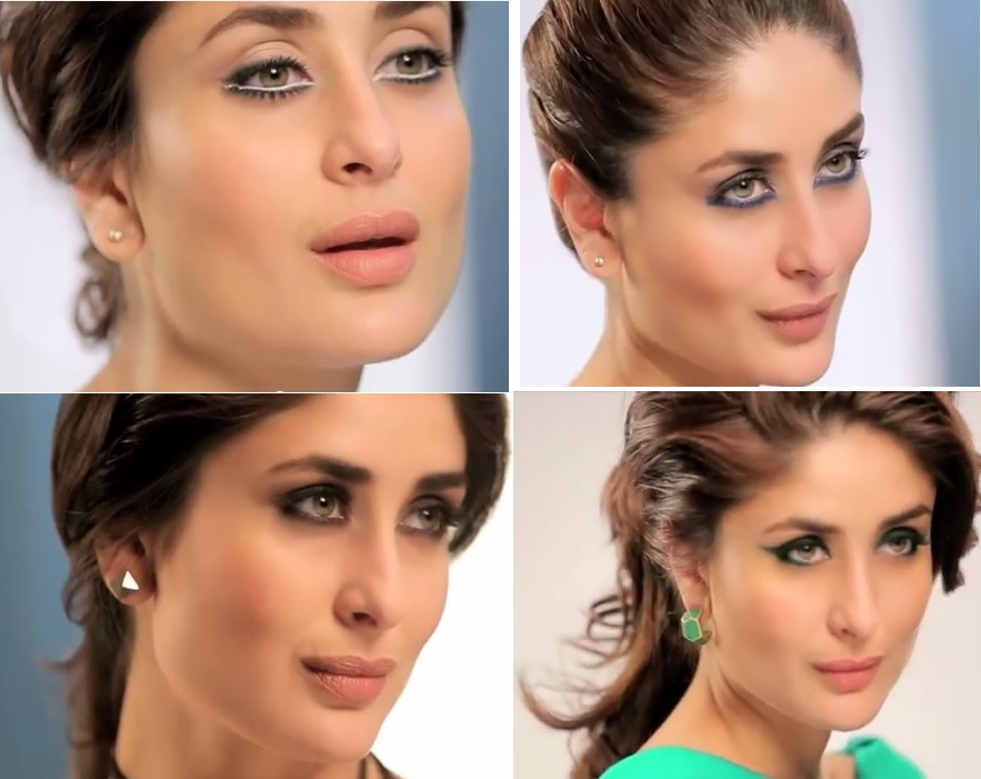How To Do Eye Makeup Like Kareena Inspired By Lakme Eyeconic Ads
