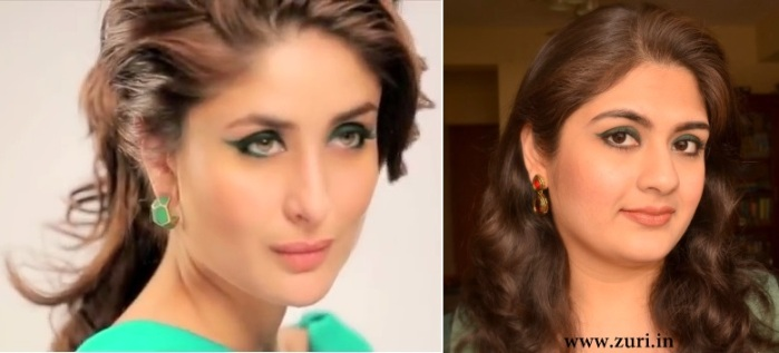 How to do eye makeup like Kareena 06