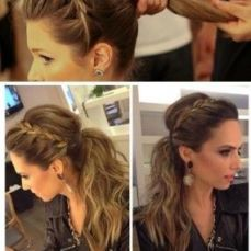 Ponytail hairstyles for long hair 02