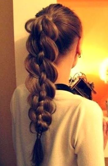 Ponytail hairstyles for long hair 05