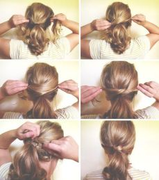 Ponytail hairstyles for long hair 06