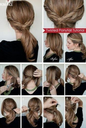 Ponytail hairstyles for long hair 10