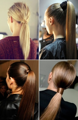 Ponytail hairstyles for long hair 13