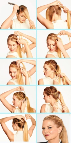 Ponytail hairstyles for long hair 15