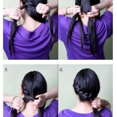 Ponytail hairstyles for long hair 22
