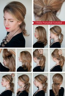 Ponytail hairstyles for long hair 24