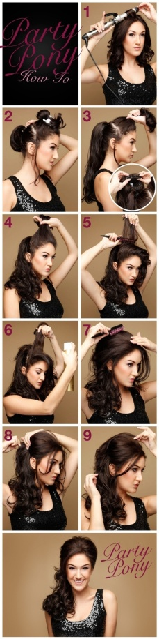 Ponytail hairstyles for long hair 25