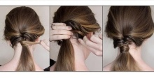 Ponytail hairstyles for long hair 26