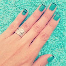 simple nail art designs 07