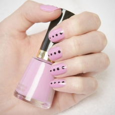 simple nail art designs 10