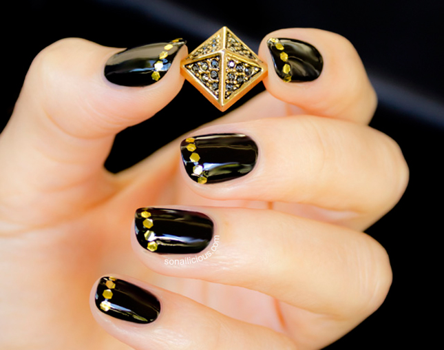 Simple Nail Art Designs 13 Indian Makeup And Beauty Blog Beauty