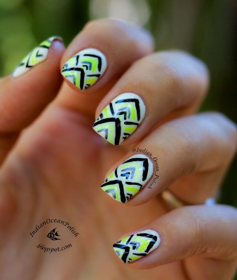 simple nail art designs 15